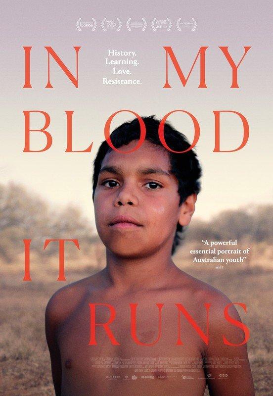 In My Blood it Runs Film Poster
