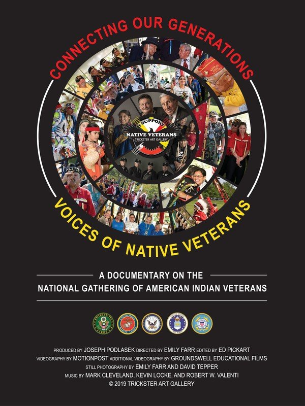 Connecting Our Generations: Voices Of Native Veterans Film Poster